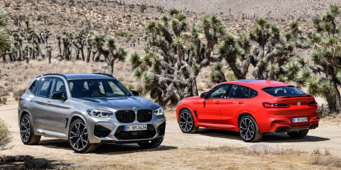 2019 BMW X3 M, X4 M Competition revealed