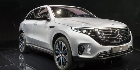 Mercedes-Benz EQC: Of course it's an SUV
