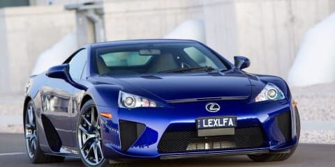 Lexus LFA Test Drive Preview