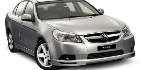 Holden Epica to be replaced by new medium sedan in 2012