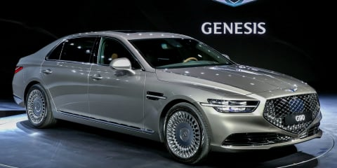 2020 Genesis G90 facelift unveiled