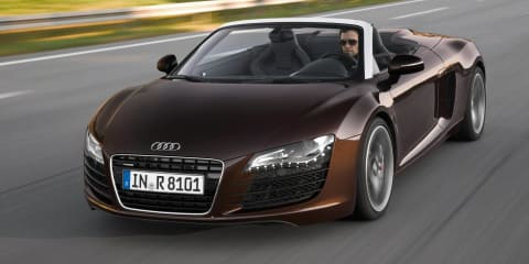 2012 Audi R8 Spyder V8 in Australia mid-year