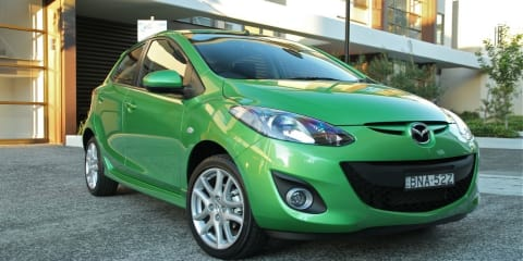 2012 Mazda2 improves safety