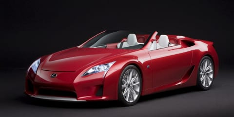 Lexus LFA Roadster planned for 2014