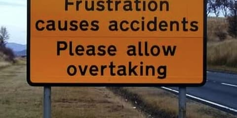 Top five annoyances associated with driving: poll
