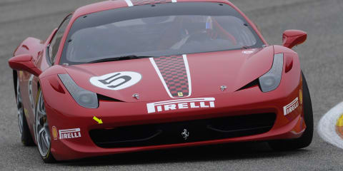 Video: Ferrari 458 Challenge around Fiorano