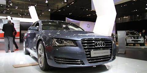 Audi A8 L at 2010 AIMS