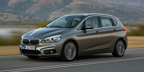 BMW 2 Series Active Tourer : front-wheel-drive luxury compact MPV revealed