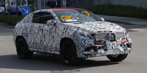 Mercedes-Benz MLC :: first look at new X6 rival