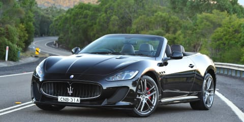 Maserati GranCabrio MC: $355K sports flagship launched