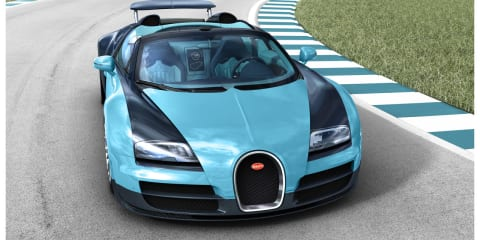 Bugatti Veyron Legend: first of six special edition models revealed