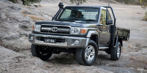 2017 Toyota LandCruiser 70 Series:: Australian updates confirmed for fourth-quarter launch - UPDATE