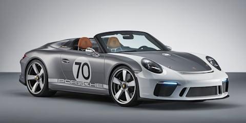 Porsche 911 Speedster concept unveiled