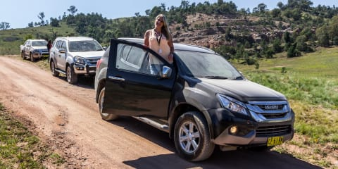 Isuzu I-Venture Club:: River Island Adventure in the Isuzu MU-X LS-T