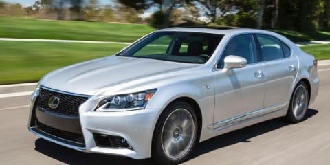 Lexus: Rich Australians moving from back seat to driver's seat