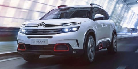 2018 Citroen C5 Aircross leaked ahead of Shanghai debut