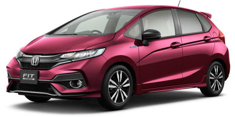 2018 Honda Jazz facelift unveiled in Japan