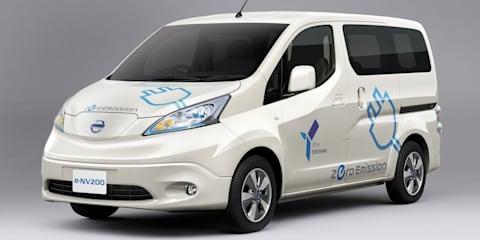 Nissan e-NV200: electric van revealed