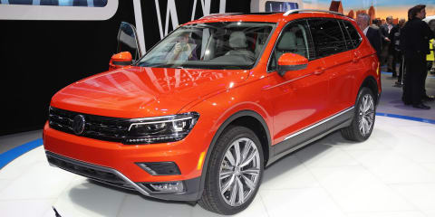 2018 Volkswagen Tiguan Allspace revealed in Detroit:: Seven-seat SUV here next year
