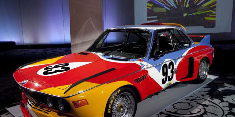BMW Art Car Collection – World Premiere on the Internet