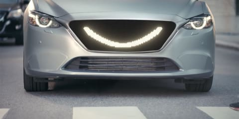 'Smiling' driverless concept developed for pedestrian safety research