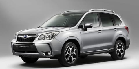 2013 Subaru Forester official images