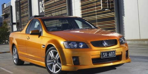 Holden VE Ute range achieves five-star safety