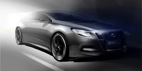 Renault Samsung SM7 Concept Seoul show teaser
