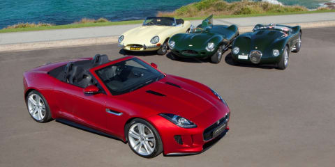 Jaguar F-Type makes rare public appearance in Australia