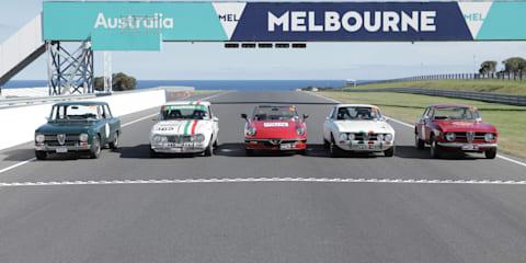 Targa Florio Australian Tribute with Alfa Romeo