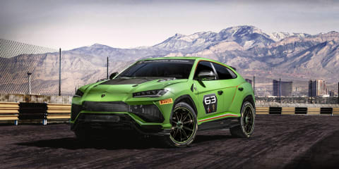 Lamborghini Urus ST-X: Racing concept revealed