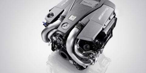 AMG 5.5-litre V8 biturbo engine – Cutting edge