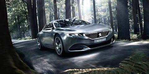 Peugeot Exalt : Updated four-door coupe concept revealed
