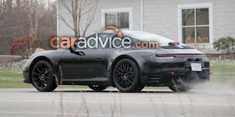 2019 Porsche 911 interior spied with big changes