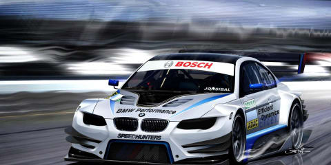BMW to enter DTM series in 2012 with six M3 touring cars