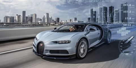 Bugatti Chiron: Round-the-clock monitoring allows 'customer concierge'