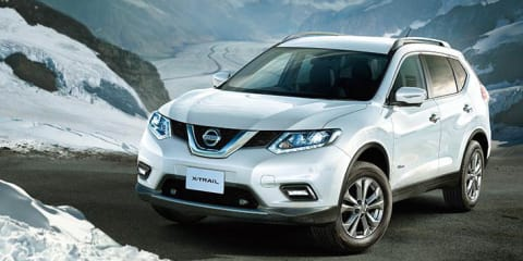 Nissan X-Trail Hybrid revealed in Japan