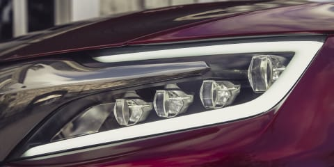 Citroen DS Wild Rubis: luxury sedan teased ahead of Shanghai reveal