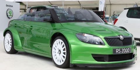 Skoda Fabia vRS 2000 unveiled at Worthersee