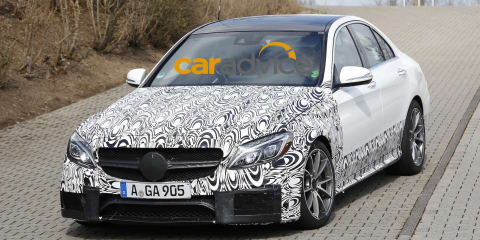 2015 Mercedes-Benz C63 AMG :: M3 rival spied