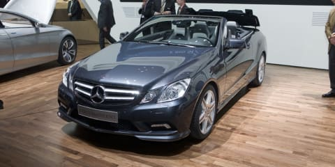 Mercedes-Benz E-Class Cabriolet drop its lid at Geneva 2010