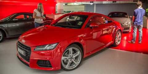 Audi TT unleashed in Sydney