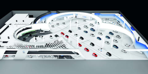 Volkswagen reveals 2011 Frankfurt Motor Show stand