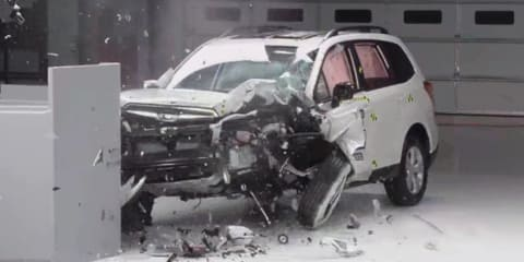 Subaru Forester first to score top marks in new IIHS crash test