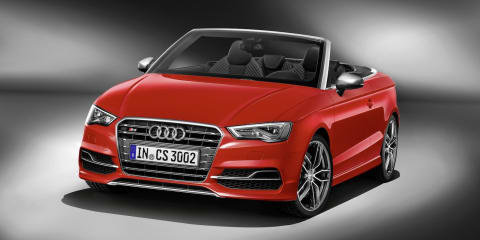 Audi S3 Cabriolet : performance drop-top here in November