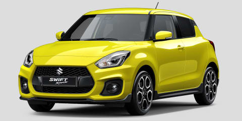 2018 Suzuki Swift Sport unveiled ahead of Frankfurt show