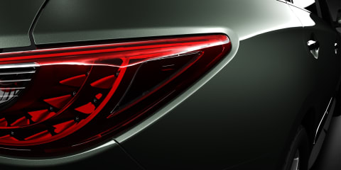 2013 Infiniti JX taillights, grille revealed