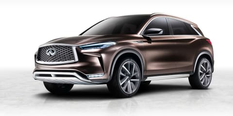 Infiniti QX50 concept revealed for Detroit