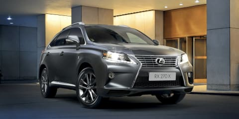 Lexus RX270 X Special Edition launched