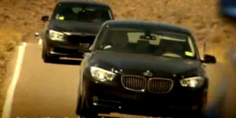 Video: 2012 BMW 1 Series, 3 Series testing in Death Valley